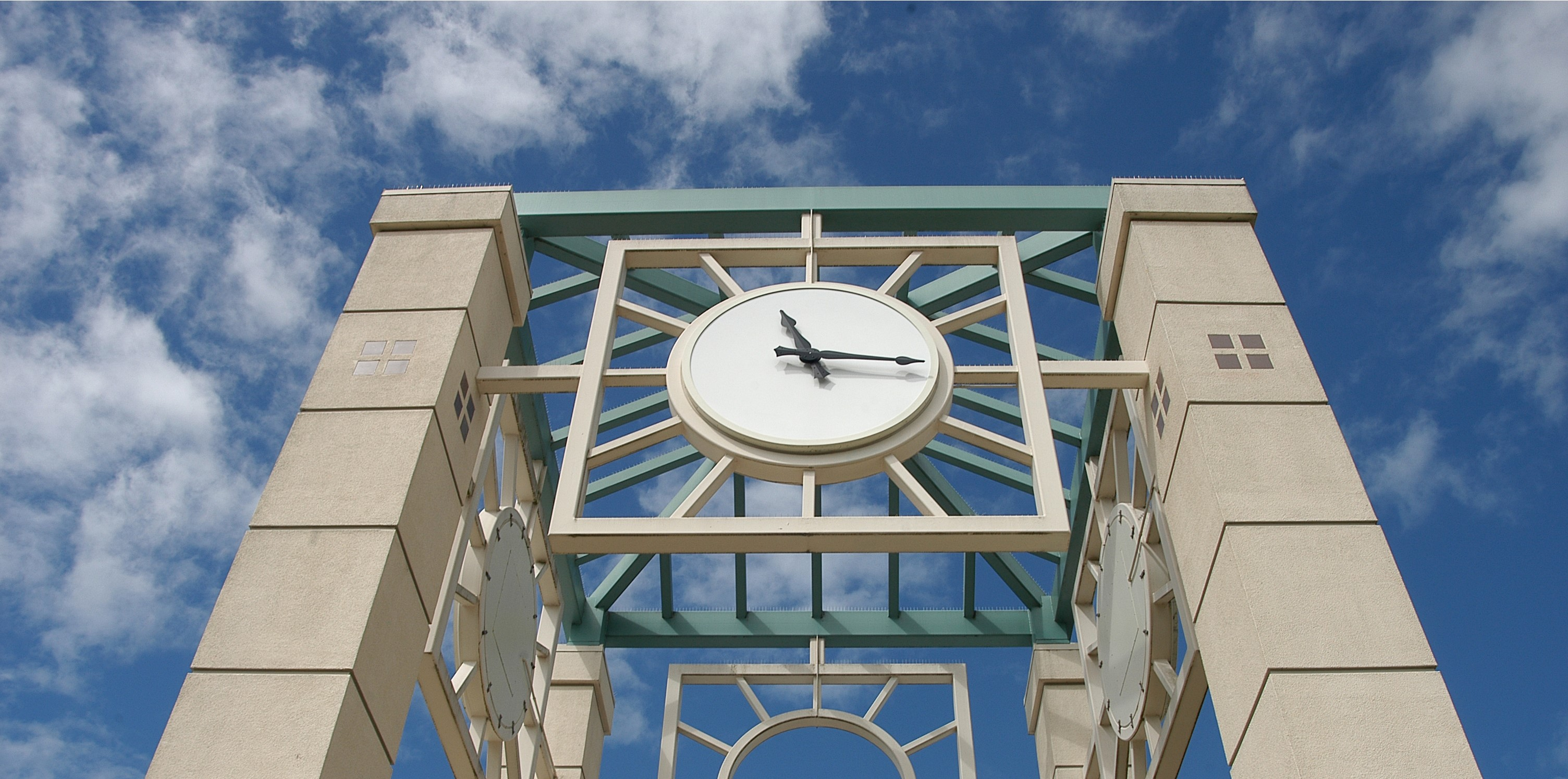 campus clock tower