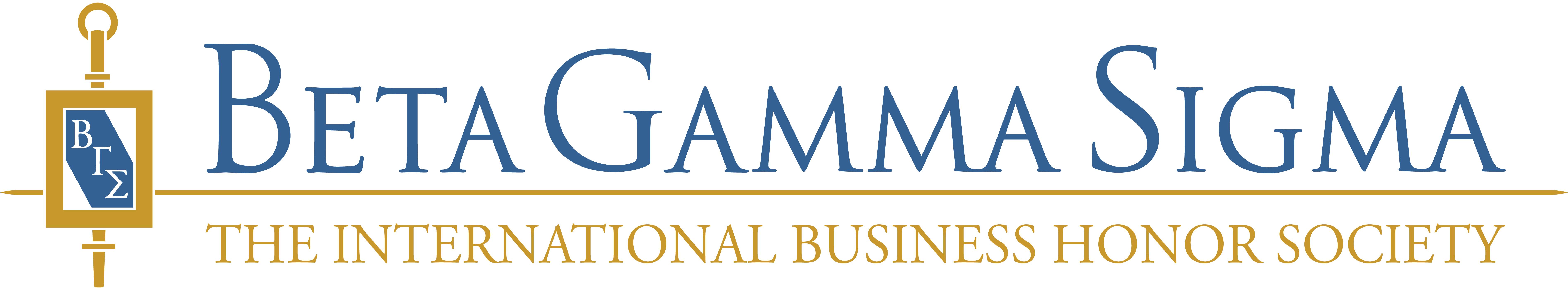 Beta Gamma Sigma The International Business Honor Society