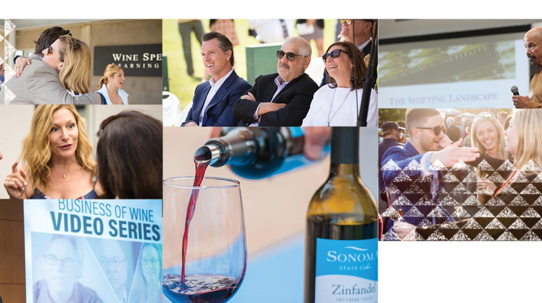 Wine Business Institute 25 Anniversary Banner