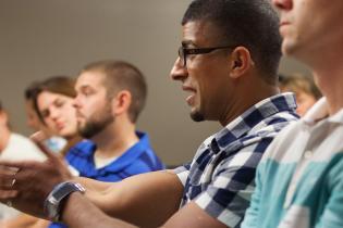 MBA student Ricky Sidhu